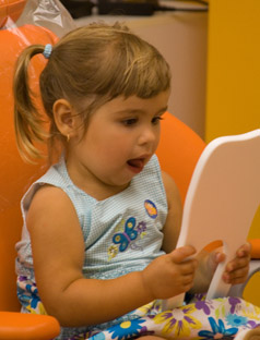Your child's first visit to Pediatric Dental Healthcare